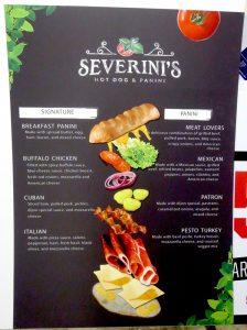 custom menu board sign