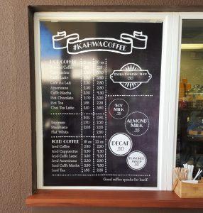 custom menu boards